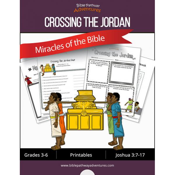 Miracles of the Bible: Crossing the Jordan workbook